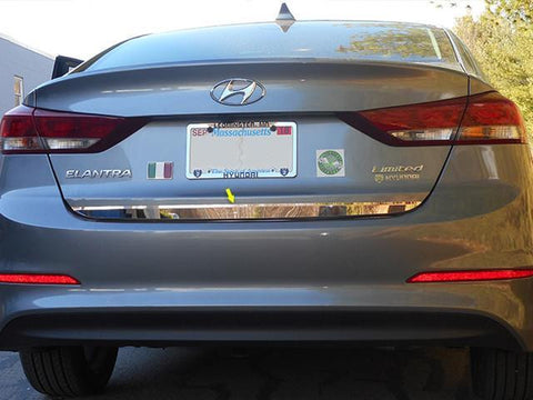 "QAA PART  RD17340 fits ELANTRA 2017-2018 HYUNDAI (1 Pc: Stainless Steel Rear Deck Accent Trim - 1.5"" Wide, 4-door) RD17340"