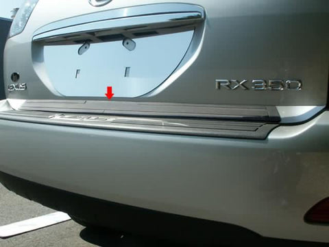 QAA PART  RD26125 fits RX 330/350/400 2004-2009 LEXUS (1 Pc: Stainless Steel Rear Deck Accent Trim, 4-door, SUV) RD26125