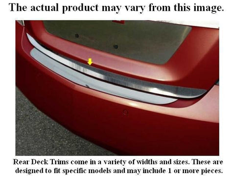 "QAA PART  RD26610 fits GTI 2006-2009 VOLKSWAGEN (1 Pc: Stainless Steel Rear Deck Accent Trim - 0.85"" wide, 4-door) RD26610"