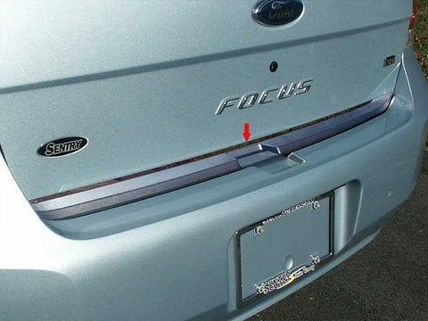 "QAA PART  RD48345 fits FOCUS 2008-2011 FORD (1 Pc: Stainless Steel Rear Deck Accent Trim - 1.75"" wide, 4-door) RD48345"
