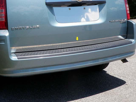"QAA PART  RD51895 fits TOWN & COUNTRY 2011-2016 CHRYSLER (1 Pc: Stainless Steel Rear Deck Accent Trim - 2"" wide, 4-door) RD51895"