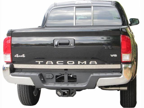 "QAA PART  RT16175 fits TACOMA 2016-2017 TOYOTA (1 Pc: Stainless Steel Rear Tailgate Accent Trim - 2"" X 56.625"", 2/4-door) RT16175"