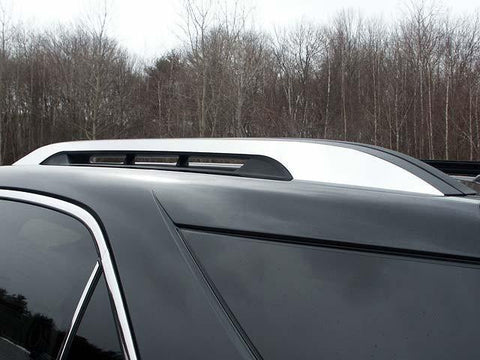 QAA PART  RR50160 fits TERRAIN 2010-2017 GMC (2 Pc Stainless Steel Roof Rack Trim - Note: This item adheres to factory Roof Rack Trim. You MUST have factory Roof Rack Trim to use this item, 4-door, SUV) RR50160