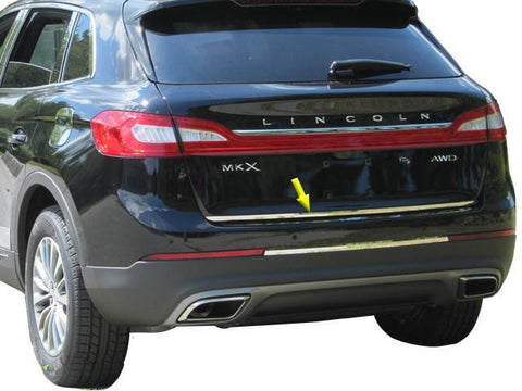 "QAA PART  RD56660 fits MKX 2016-2018 LINCOLN (1 Pc: Stainless Steel Rear Deck Accent Trim - 0.625"" X 46.3"", 4-door, SUV) RD56660"