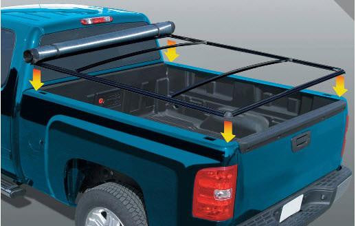 ... Rugged Liner Tonneau Cover For Ford 01 03 F 150   Auto Truck