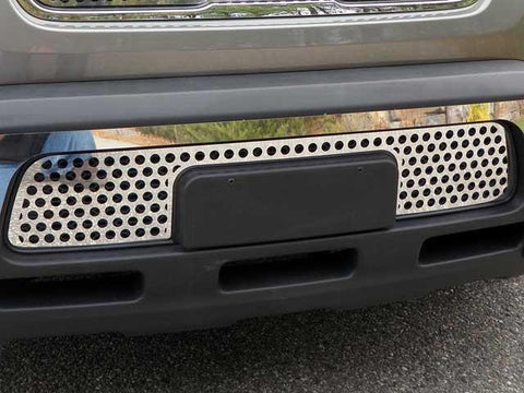 QAA PART  SG10831 fits SOUL 2010-2011 KIA (1 Pc: Stainless Steel Lower Grille Insert, 4-door) SG10831