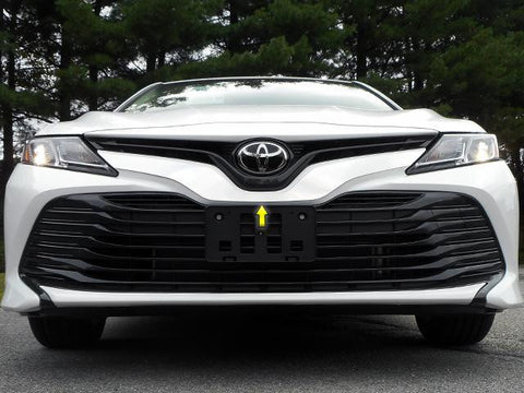 QAA PART  SG18130 fits CAMRY 2018 TOYOTA (1 Pc: Stainless Steel Front Grille Accent Trim, 4-door) SG18130