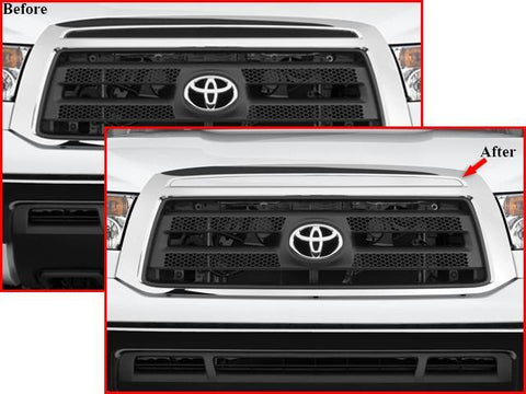 QAA PART  SG27145 fits TUNDRA 2007-2013 TOYOTA (1 Pc: Stainless Steel Upper Grille Filler, 2/4-door) SG27145