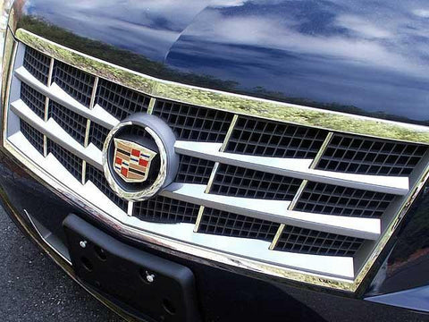 QAA PART  SG45236 fits STS 2008-2011 CADILLAC (6 Pc: Stainless Steel Grille Insert, 4-door) SG45236
