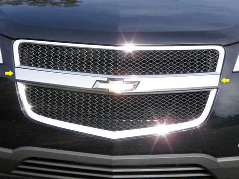 QAA PART  SG49165 fits TRAVERSE 2009-2012 CHEVROLET (2 Pc: Stainless Steel Grille Accent Trim - around logo, 4-door, SUV) SG49165