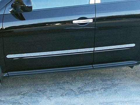 "QAA PART  TH24590 fits MURANO 2003-2007 NISSAN (4 Pc: SS Rocker Panel Body Accent Trim, 1.5"" wide - Upper Kit: Bottom of molding DOWN to the specified width , 4-door, SUV) TH24590"