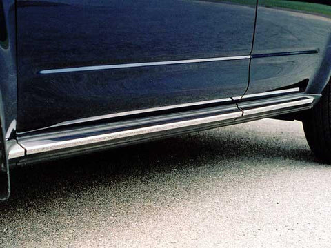 "QAA PART  TH24591 fits MURANO 2003-2007 NISSAN (6 Pc: SS Rocker Panel Body Accent Trim, 1.5"" wide - On the rocker: below the door , 4-door, SUV) TH24591"