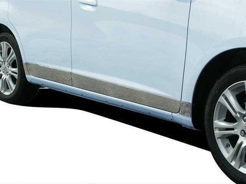 "QAA PART  TH29221 fits FIT 2009-2013 HONDA (8 Pc: SS Rocker Panel Body Accent Trim, 3.125"" wide - Lower Kit: Bottom of the door UP to the specified width w/ trim crease, 4-door) TH29221"