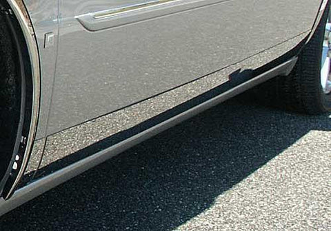 "QAA PART  TH46246 fits DTS 2006-2011 CADILLAC (12 Pc: SS Rocker Panel Body Accent Trim, 4.5"" wide - Lower Kit: Bottom of the door UP to the specified width (full length coverage), 4-door) TH46246"