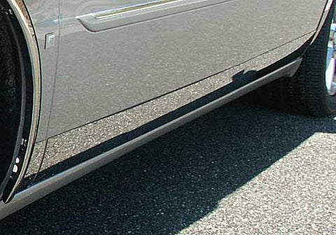 "QAA PART  TH40245 fits DEVILLE/DTS 2000-2011 CADILLAC (8 Pc: SS Rocker Panel Body Accent Trim, 4.5"" wide - Lower Kit: Bottom of the door UP to the specified width , 4-door) TH40245"