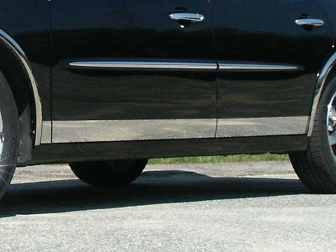"QAA PART  TH45520 fits LACROSSE 2005-2009 BUICK (8 Pc: SS Rocker Panel Body Accent Trim, 3.5"" wide - Lower Kit: Bottom of the door UP to the specified width , 4-door ) TH45520"