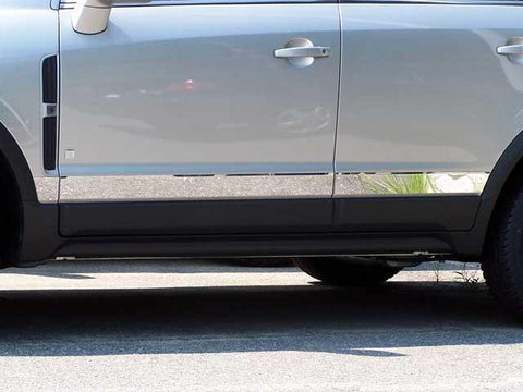 "QAA PART  TH48440 fits VUE 2008-2009 SATURN (6 Pc: SS Rocker Panel Body Accent Trim, 3"" wide - Upper Kit: Bottom of molding DOWN to the specified width (ABOVE LOWER FX), 4-door) TH48440"