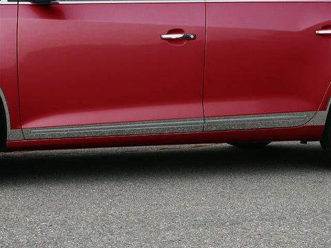 "QAA PART  TH50521 fits LACROSSE 2010-2016 BUICK (8 Pc: SS Rocker Panel Body Accent Trim, 2.375"" - 3 0.75"" tapered width - Lower Kit: Bottom of the door UP to the specified width (cutout factory trim), 4-door) TH50521"