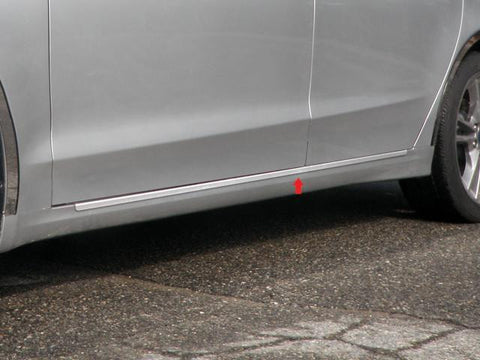 "QAA PART  TH53391 fits FUSION 2013-2018 FORD (2 Pc: SS Rocker Panel Body Accent Trim, 1.25"" wide - On the rocker: below the door , 4-door) TH53391"