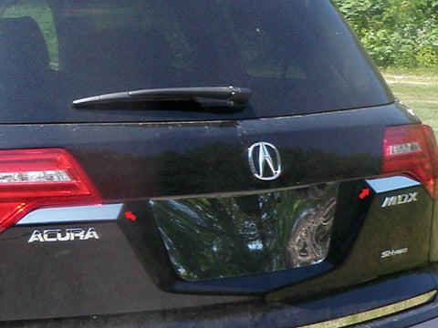 QAA PART  TP27297 fits MDX 2007-2013 ACURA (2 Pc Stainless Steel Rear Tail Light Trim Accent , 4-door, SUV) TP27297