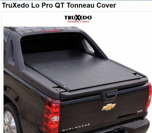 Bedcover Tonneau Cover For Chevy Avalanche By Truxedo 561101