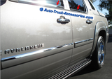 Stainless Steel Window Sill covers for Chevy, Silverado, Tahoe - Auto-Truck-Accessories  - 2