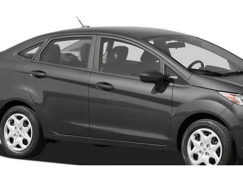 QAA PART  WP51335 fits FIESTA 2011-2018 FORD (20 Pc: Stainless Steel Window Trim Package w/ pillar trim , 4-door) WP51335