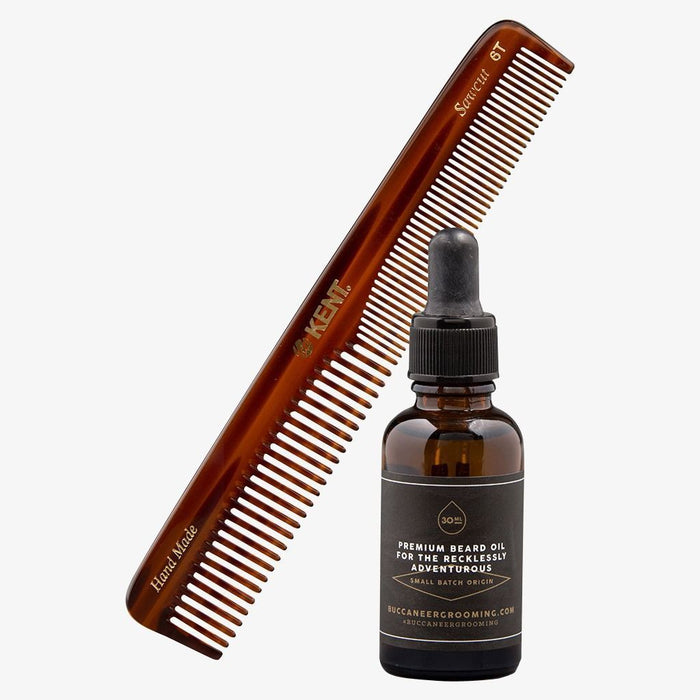 Beard Oil & Beard Comb Set