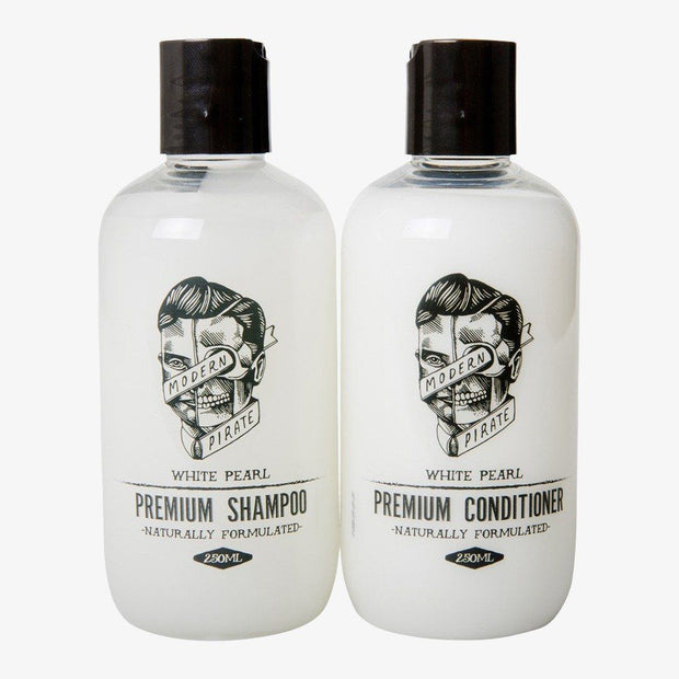Modern Pirate Premium Shampoo & Conditioner Pack