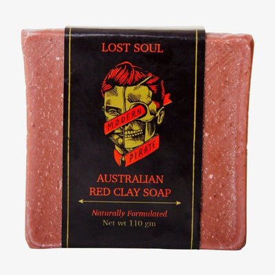 Modern Pirate Australian Red Clay Soap