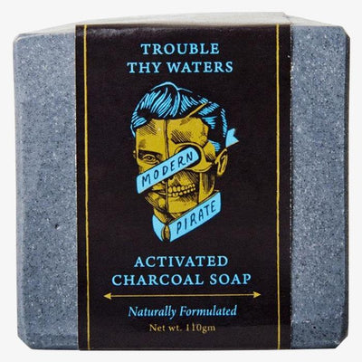 Modern Pirate Activated Charcoal Face and Body Soap
