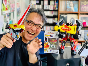 New FB Page for CSToys Toku Wave LIVE Radio