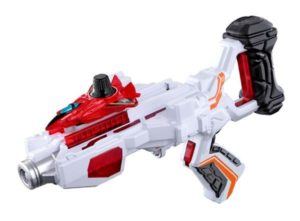 DX VS Changer with Candy Toy SG VS Vehicle Lite Red Dial Fighter