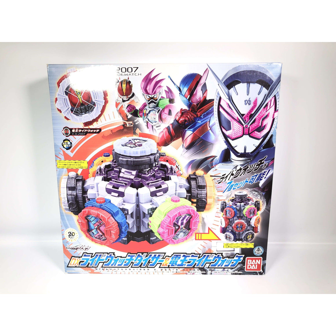 CSTOYS INTERNATIONAL:3000000419878[BOXED]Kamen Rider Zi-O: DX Ride Watch Daizer & Den-O Ride Watch
