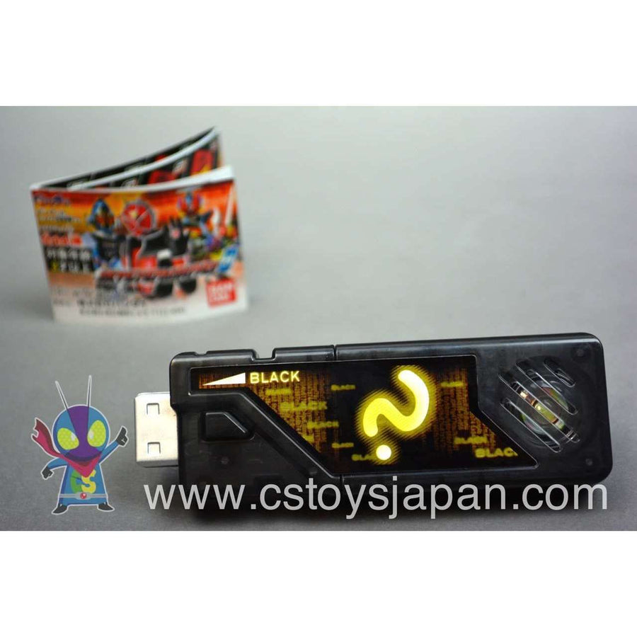 CSTOYS INTERNATIONAL:Kamen Rider W DX Sound Capsule Gaia Memory Vol.8 #12 Black