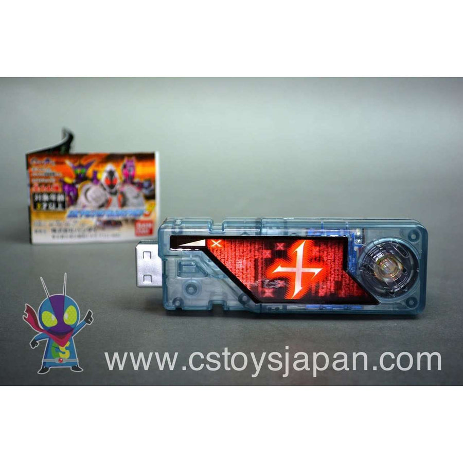 CSTOYS INTERNATIONAL:Kamen Rider W DX Sound Capsule Gaia Memory Vol.9 #09 X