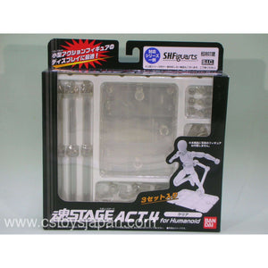 CSTOYS INTERNATIONAL:Tamashii Stage ACT.4 for Humanoid -CLEAR-