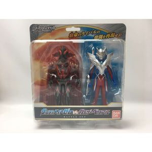 CSTOYS INTERNATIONAL:Ultraman Ultra Hero Ultimate Zero vs. Kaizer Belial Battle Set