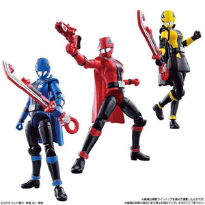 CSTOYS INTERNATIONAL:Lupinranger vs Patranger: Candy Toy SG YU-DO Action Figure Set (Complete 7 Box Set)