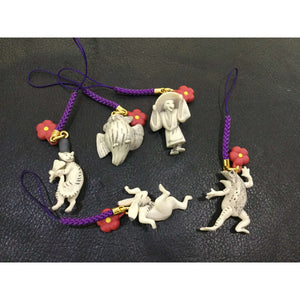 CSTOYS INTERNATIONAL:Capsule Toy Netsuke Collection Choujyuu-Giga Set - Complete Set