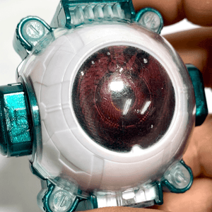 [LOOSE] Kamen Rider Ghost: Showa Rider Ghost Eyecon -Televikun Magazine Exclusive- RARE