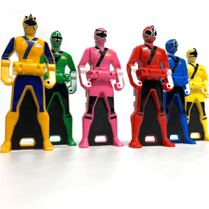 [LOOSE] Shinkenger: Ranger Key Set