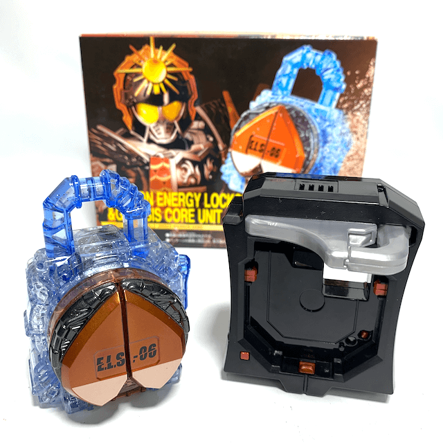 [BOXED] Kamen Rider Gaim: Premium Bandai Exclusive - DX Marron Energy Lockseed & Genesis Core Unit