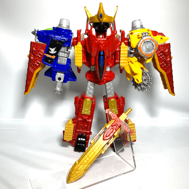 [LOOSE] Lupinranger vs. Patranger: DX Lupin Rex Set (DX Jackpot Striker + Three Dial Fighters)