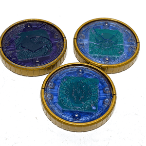 [LOOSE] Kamen Rider OOO: Capsule Toy Shouta Combo Core Medal Set