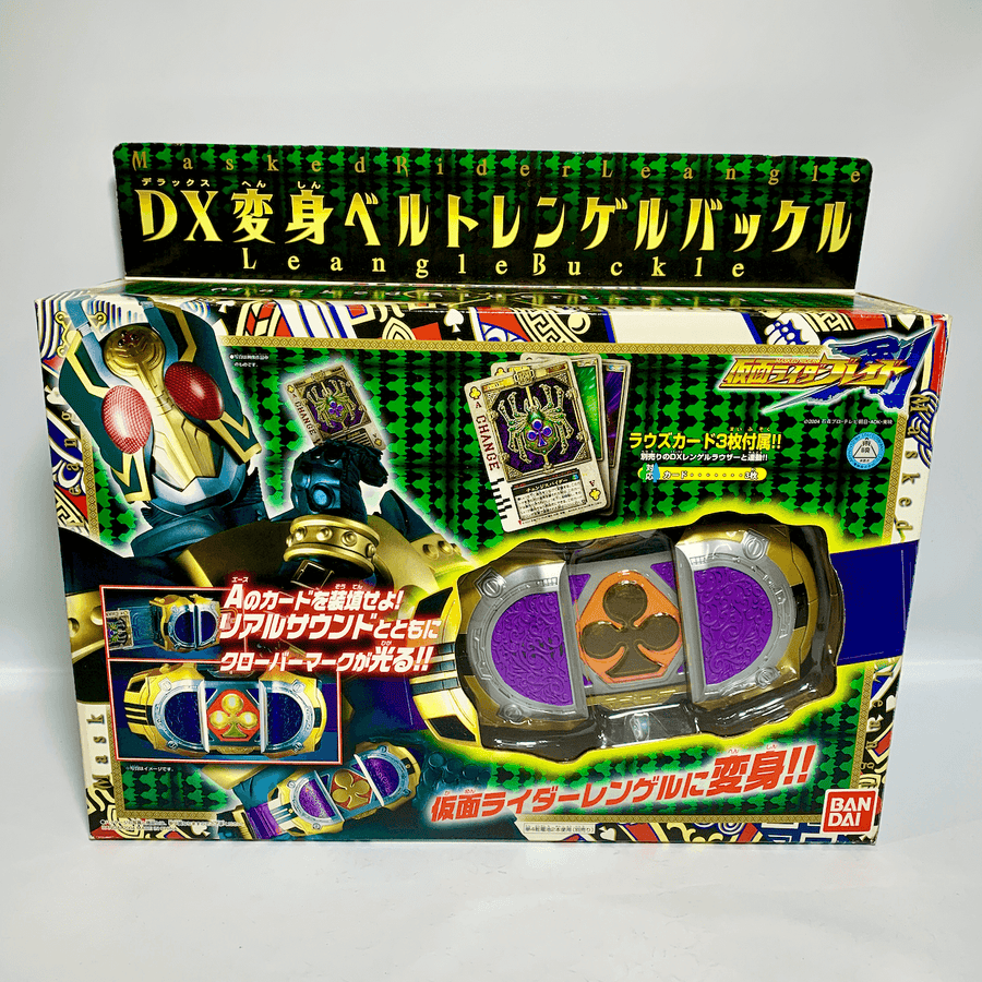 [BOXED] Kamen Rider Blade: DX Leangle Buckle
