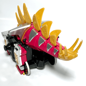 [LOOSE Toy Part] Bakuryuu Sentai Abaranger: Bakuryuu Stegoslidon (Functional, but One Broken Fin)