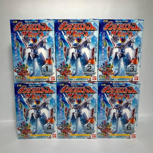 Kiramager: Candy Toy Minipla Mashin Gattai Series 05. King Express Zabyuun 6BOX Set