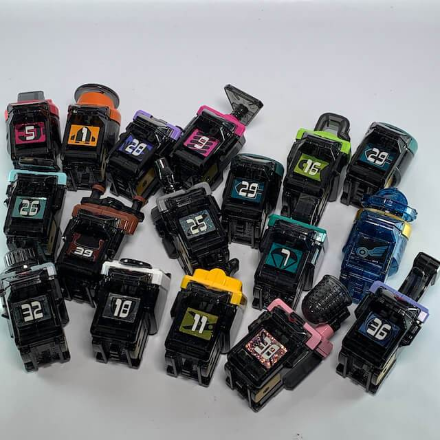 [LOOSE] Kamen Rider Fourze: Astro Switch Random Set (Mixed with both DX & Candy Toys)