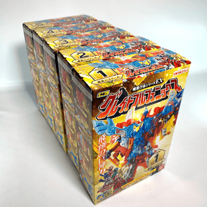 [Complete Box Set] Candy Toy Minipla Mashin Sentai Kiramager: Mashin Gattai Series EX. Great Full Phoenix Set